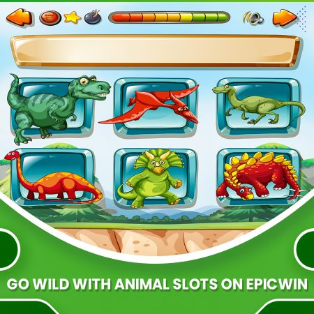 Go Wild with Animal Slots on EpicWin